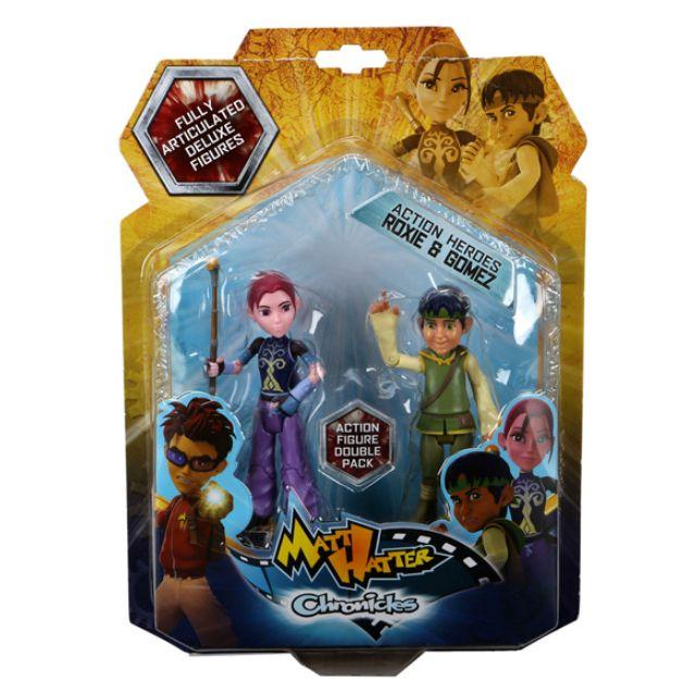 Matt  Hatter Roxie ve Gomez 2'li Figür oyuncağı Toyzzshop.com'da