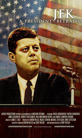 Narrated by Morgan Freeman, JFK: A President Betrayed uncovers new evidence on how John F. Kennedy reversed years of US policy by leading back-channel peace efforts with Fidel Castro, Nikita Khrushchev and other US enemies.  This riveting documentary highlights how President Kennedy was subverted by top US officials and resented by military advisors, all the while considering how the world may be different had he lived.  Available to stream on Netflix and Hulu & for purchase on Amazon…