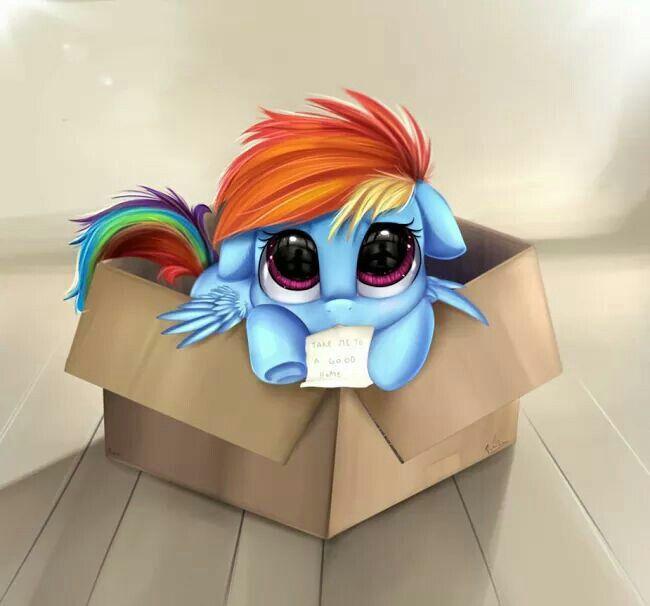Free pony by pridark