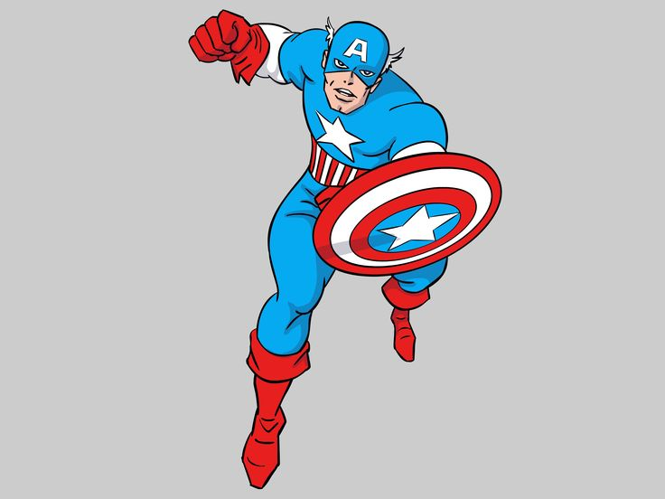 Captain America Cartoon Images: How To Draw Captain America (with Pictures)