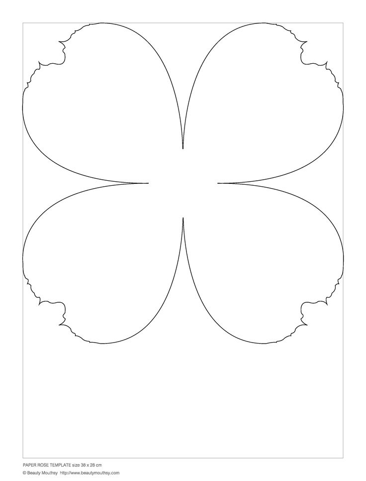 big flower paper template - 426 best images about paper flowers on pinterest