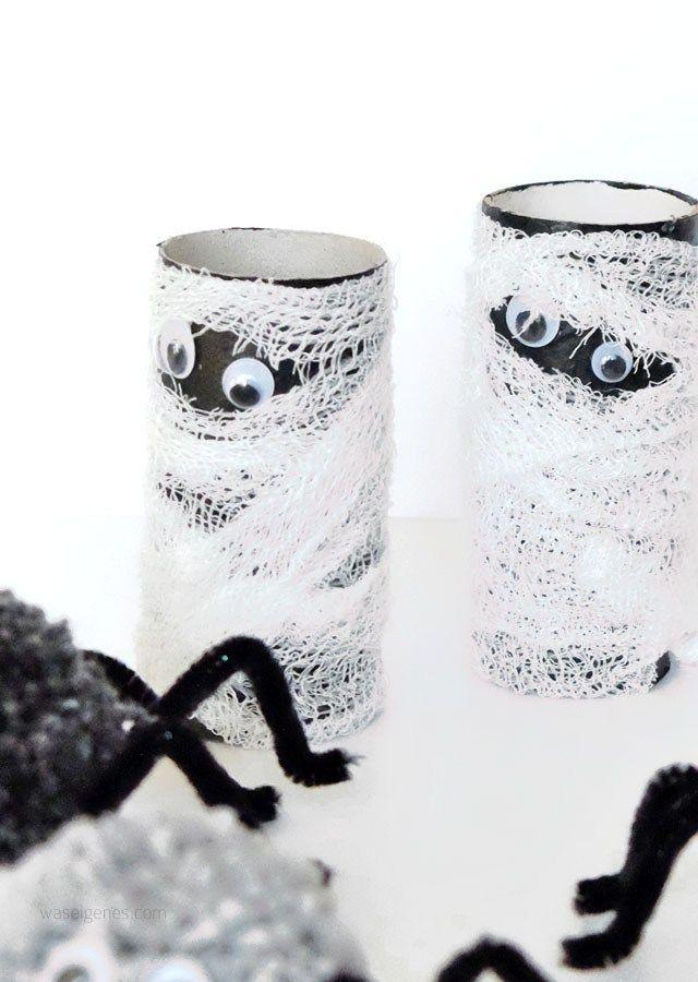 Was Eine Schaurig Tolle Upcycling Idee Fur Die Nachste Halloween Party Danke Fu Halloween Deko Basteln Mit Kindern Halloween Deko Basteln Monster Basteln