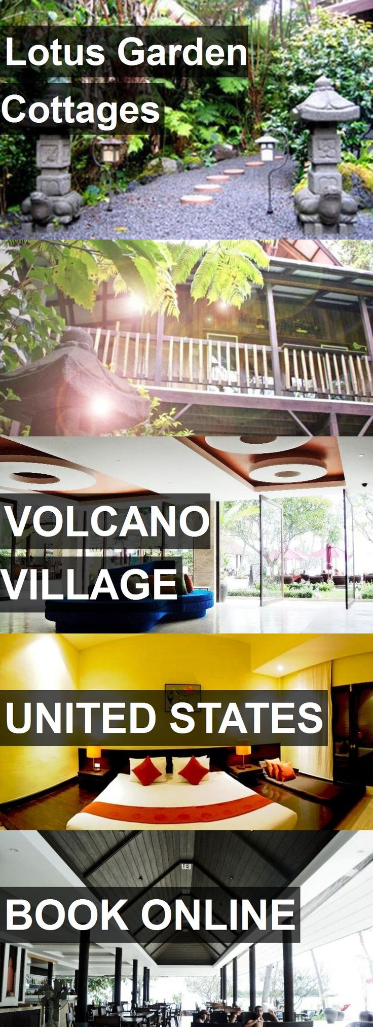 Hotel Lotus Garden Cottages in Volcano Village, United States. For more information, photos, reviews and best prices please follow the link. #UnitedStates #VolcanoVillage #travel #vacation #hotel