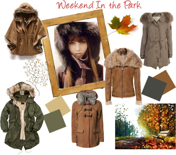 """Coats for the walk in the Park"" by sarahghag on Polyvore"