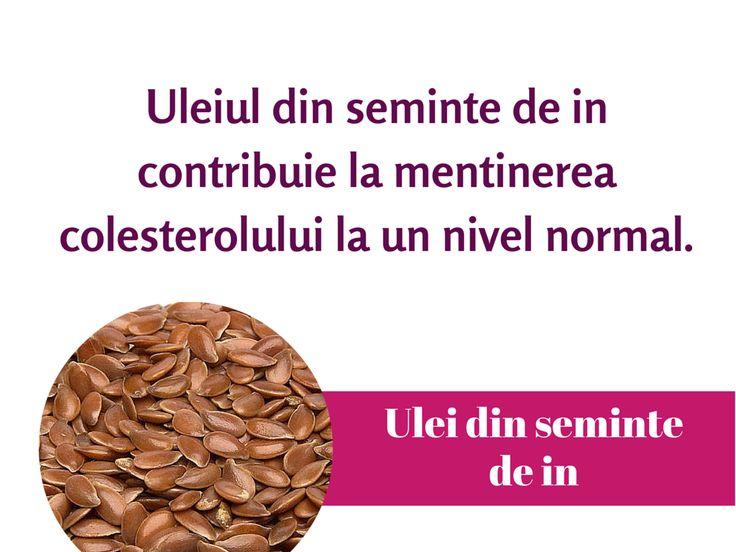 Uleiul de seminte de in ajuta la mentinerea #colesterolului. #ProtectieHepatica #DetoxiereFicat #Silimarina