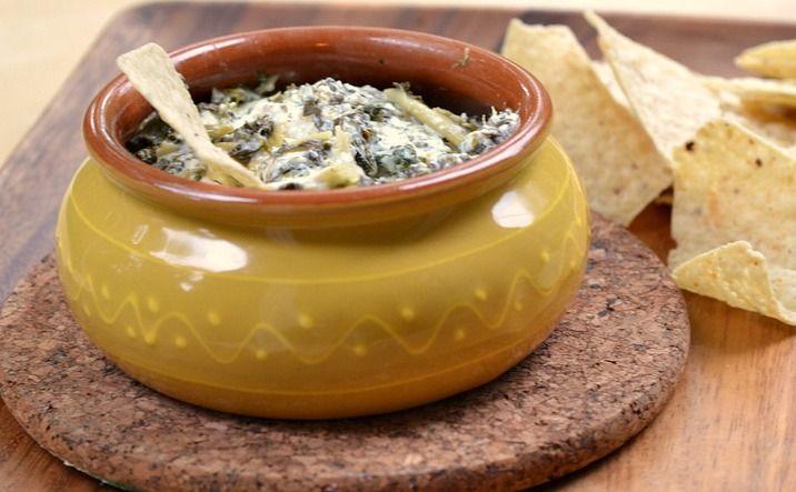 Goat Cheese, Spinach, & Artichoke Dip