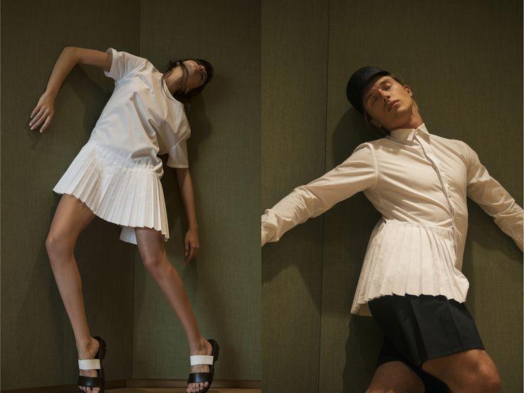 Edith Marcel #EdithMarcel #FashionHubMarket #mfw #newtalents