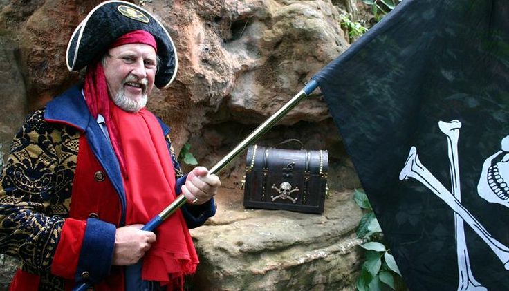 Pirate Pete £25 family ticket 1 hour walk