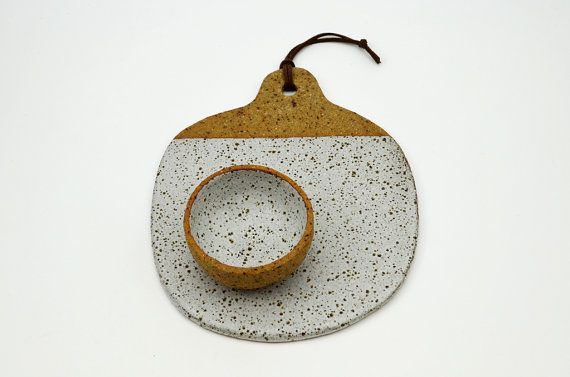 Mini Cheese Platter Serving Platter Ceramic by susansimonini