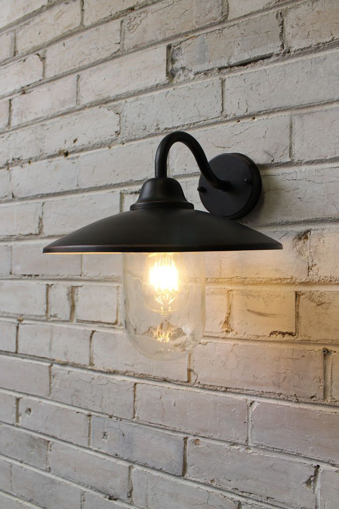 Gasworks Gooseneck Outdoor Wall Light