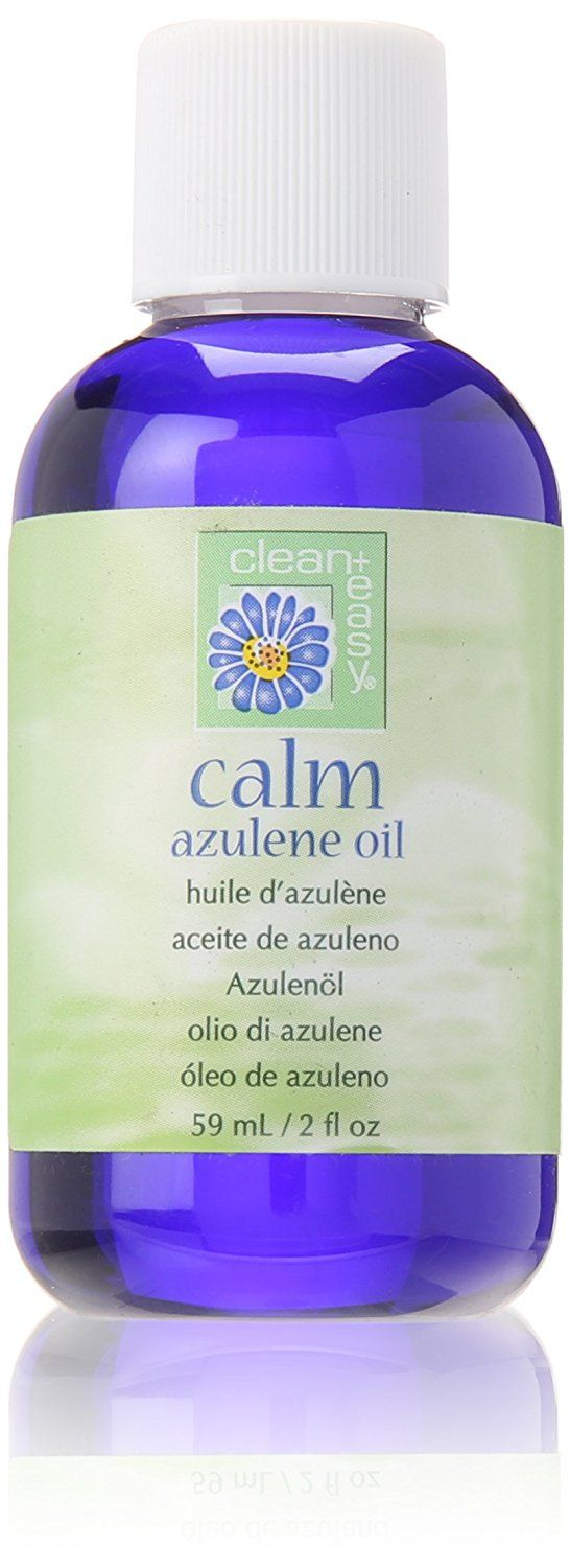 Clean   Easy Calm Azulene Oil, 2 Fluid Ounce >>> Insider's special review you can't miss. Read more  : essential oils