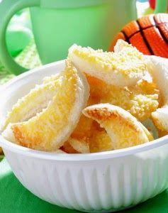 Resep Cookies Keju Roti Tawar