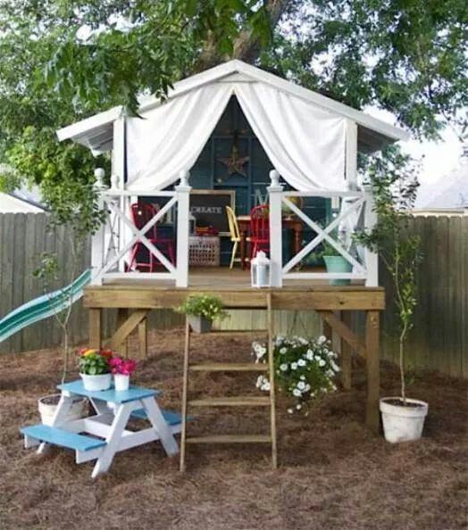Kid friendly backyard idea