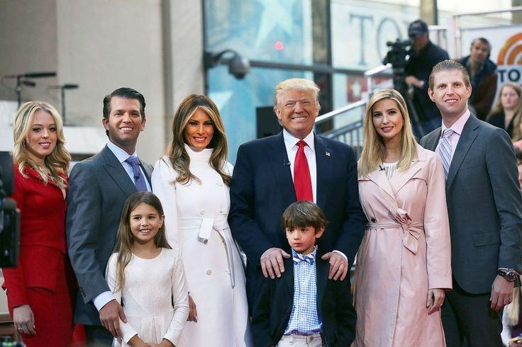 Los tres hijos mayores del magnate: Donald Jr, Ivanka y Erick formarán parte del comité ejecutivo de transición, este tiene a cargo formar el grupo que tendrá a cargo los temas de trabajo, seguridad y oportunidad. Foto: Yahoo Magazines