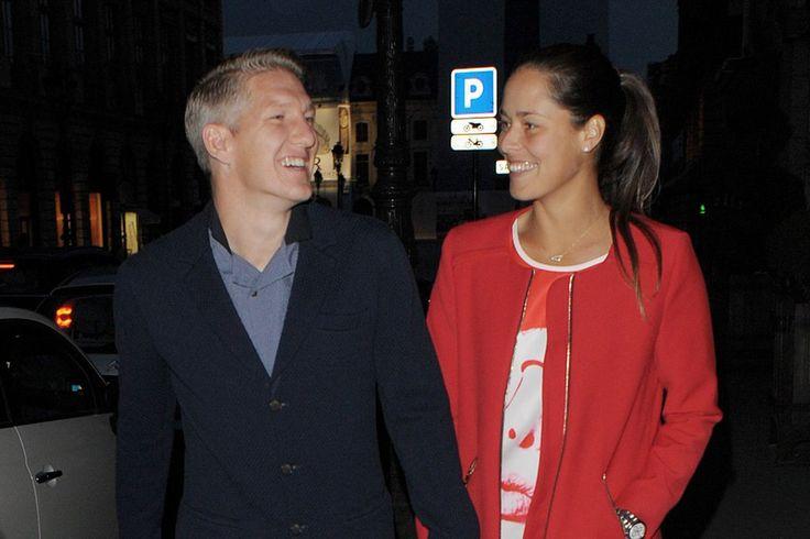 Bastian Schweinsteiger und Ana Ivanovic: endlich offiziell