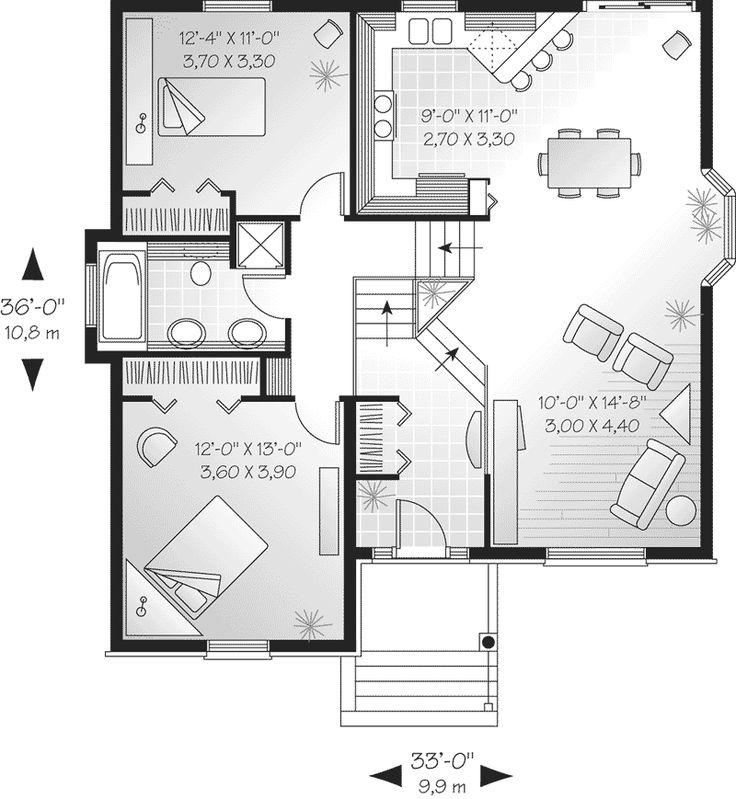 18x50 House Design Google Search: Split Level 1930 Home Design - Google Search