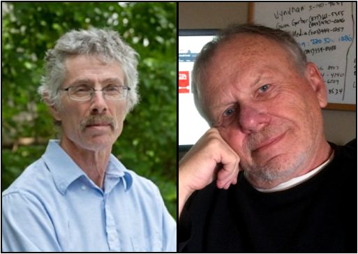 "Ronald Meyer & Mark Reeder -- ""The Adam Enigma""   at Boulder Book Store 11.9.16"