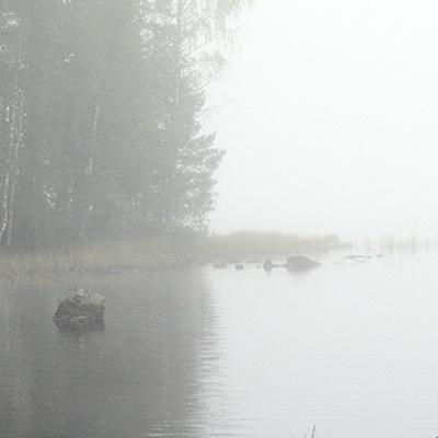 Finland, Lake and Fog