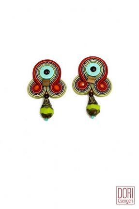 Voyage fun boho style go to earrings by Dori Csengeri. #DoriCsengeri #earrings #boho #casual #small #spring #colors
