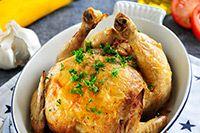 Honing limoen kip gevuld met courgette | Philips