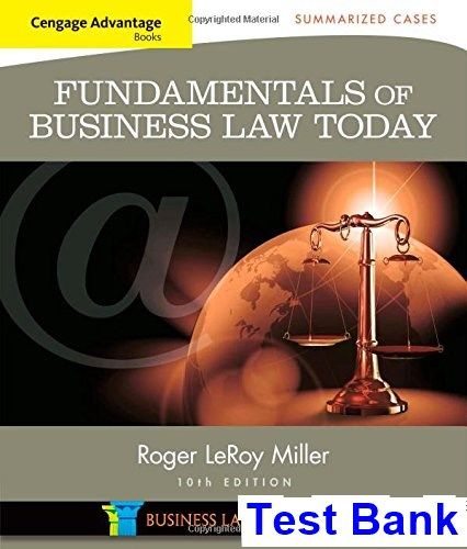 42 best test bank download images on pinterest cengage advantage books fundamentals of business law today summarized cases 10th edition miller test bank fandeluxe Image collections
