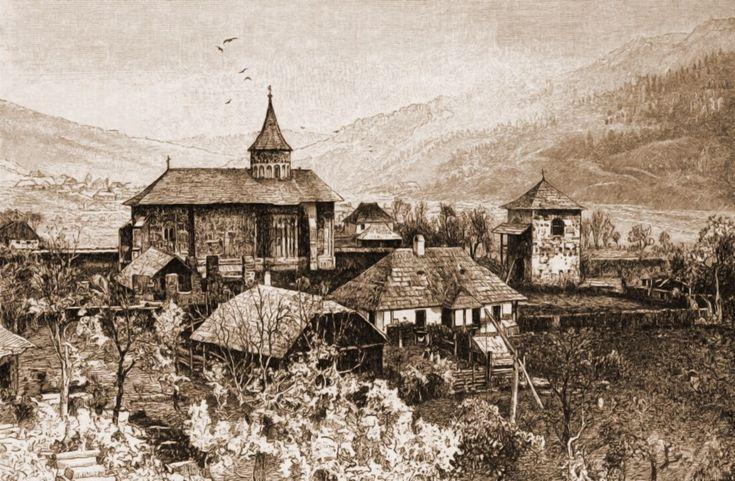 Voroneţ, mănăstirea