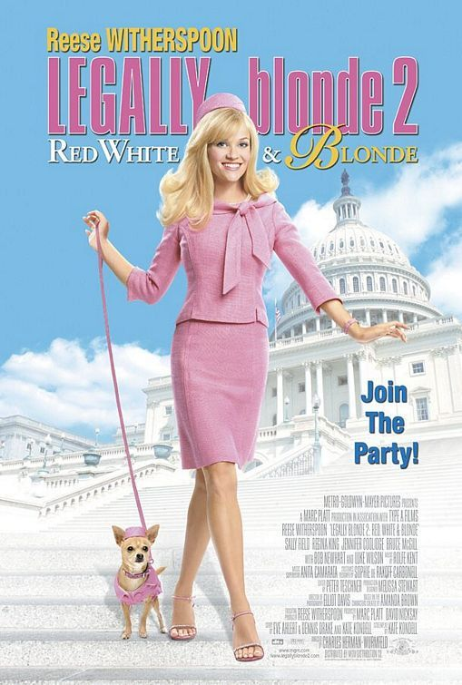 LEGALLY BLONDE 2: RED, WHITE AND BLONDE~2001