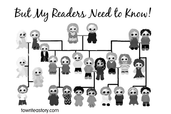 But My Reader Needs to Know! - To Write a Story. . .