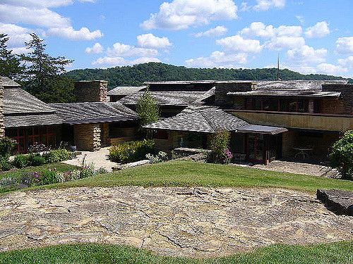 696 best frank lloyd wright 39 s own residences images on for Frank lloyd wright craftsman