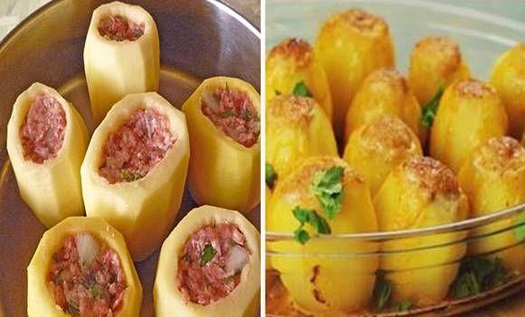 Darált hússal töltött burgonya - az egész család kedvence lesz!