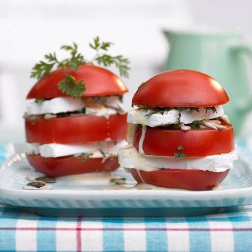 Gefüllte Balsamico-Tomaten