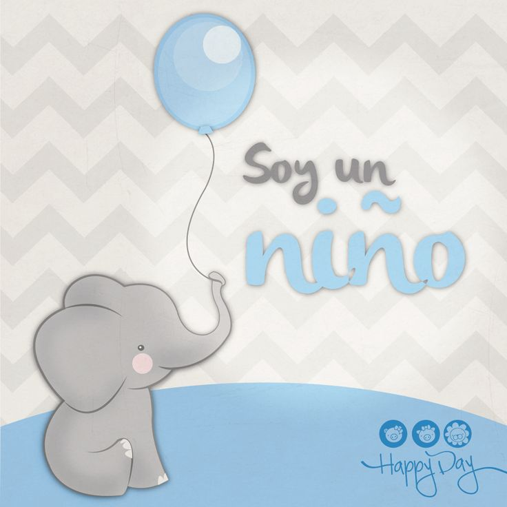 Elefante Bebé. Baby Shower.