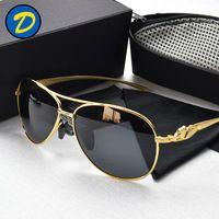 Promoção Retro Oculos Masculino homem óculos de sol óculos Original óculos de sol para homens óculos de sol aviador Polar óculos acessórios