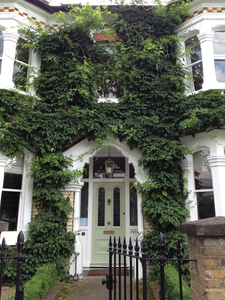 Pretty Victorian front door south London