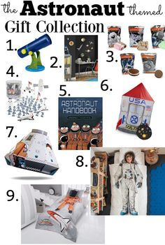 Astronaut lovers - this space gift guide is out of this world! From telescopes to shuttle pods and bed sets and books - eat your heart out and pretend to be the astronaut you've always wanted to be!