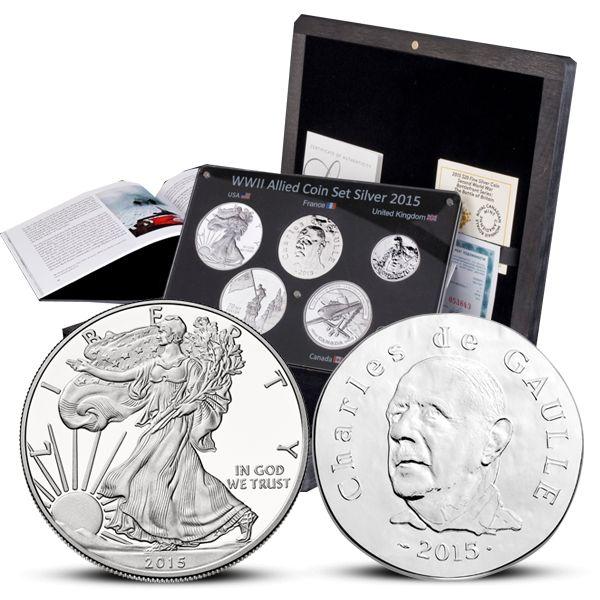 Allied silver set