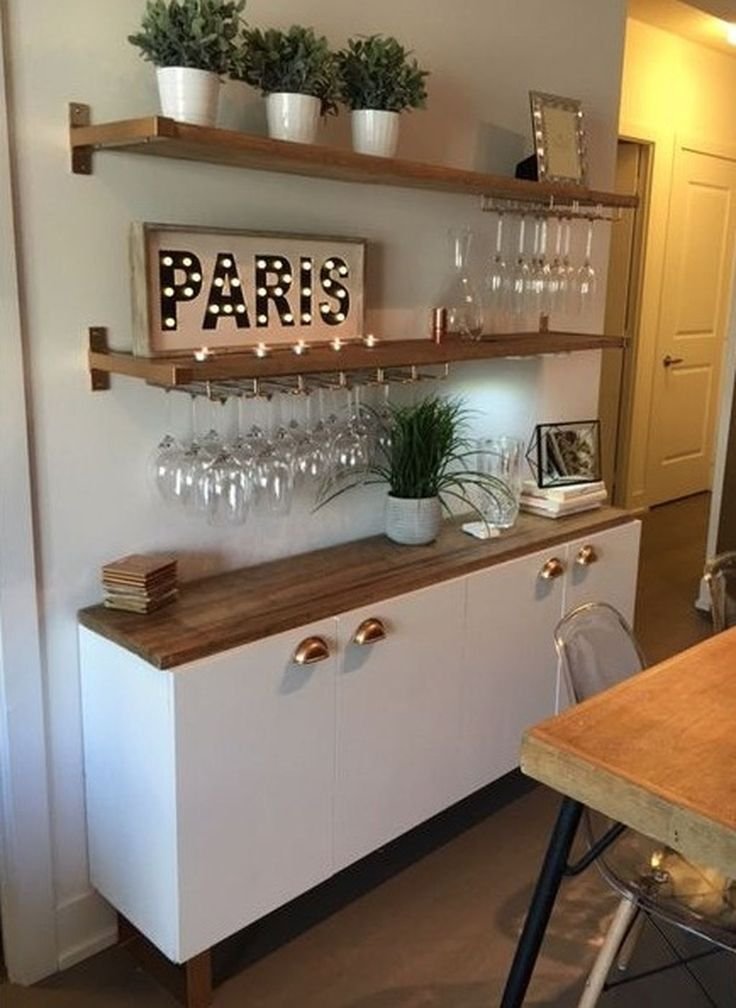 Apartment Bar Cool Design Ideas Kitchen Lovely In 2020 Kleine Kuche Bar Minimalistische Kuche Und Kleine Kuche