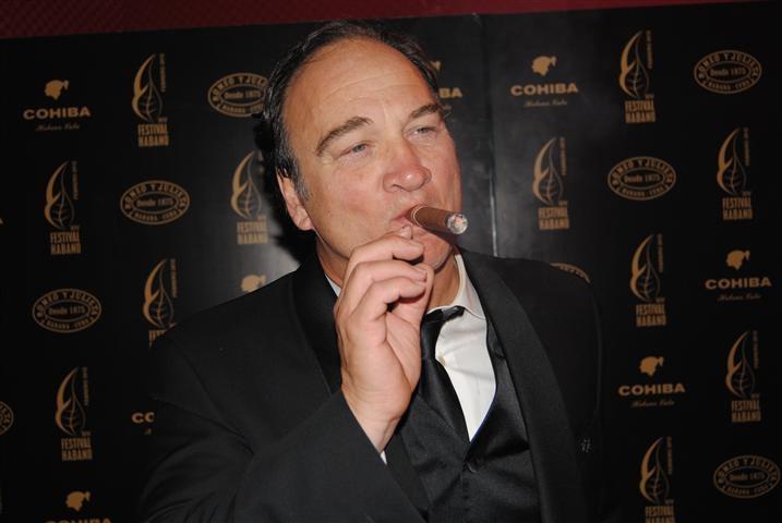 Jim Belushi, his favorite cigar, a Montecristo #2