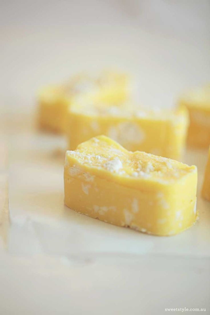 Recipe :: Lemon Meringue Fudge