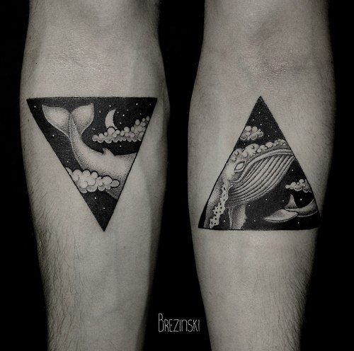 by Brezinkski  Love the style! I was looking to do something exactly like this but with a more Japanese wave design.