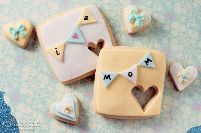 Pennant-Banner-Mother's-Day-Cookies