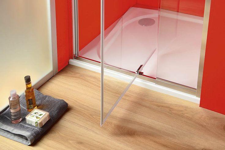 SIGMA sprchové dveře otočné 780-900 mm, čiré sklo