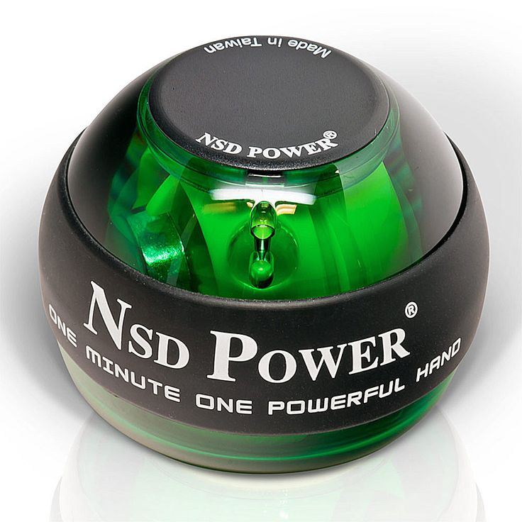 Original NSD PowerBall 250Hz Classic Power Ball Hand Gyro PB-188 EMERALD