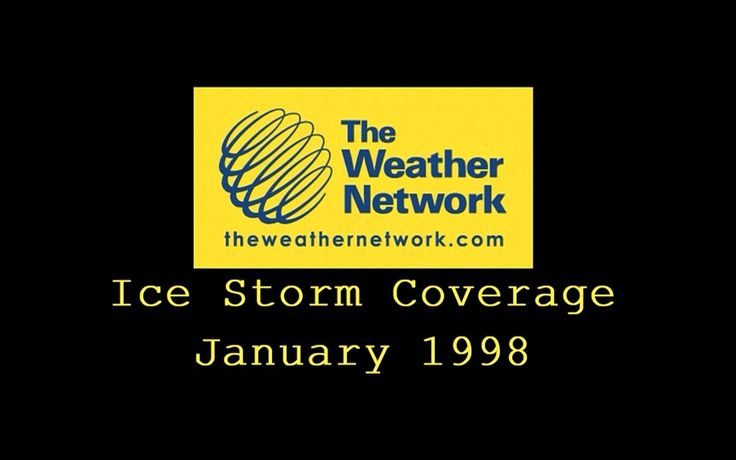 nice Canadian Weather -  Ice Storm 1998 Coverage From The Weather Network - #Canadian #Weather #Videos