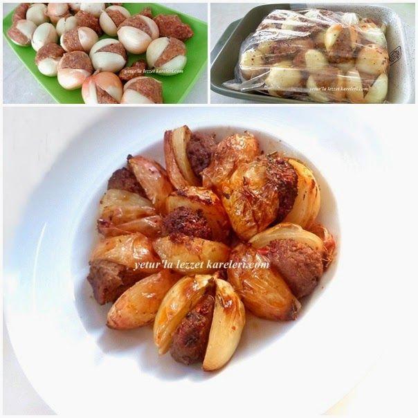 yetur'la lezzet kareleri: fırın torbasında soğan kebabı