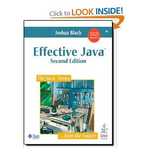 Effective Java (2nd Edition): Joshua Bloch: 9780321356680: Amazon.com: Books