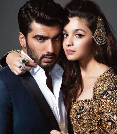 Alia Bhatt and Arjun Kapoor Photoshoot