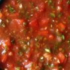 This is a great fresh salsa I make that is a copy of Chi Chis fresh Salsa