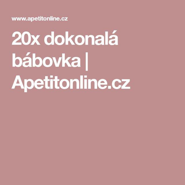 20x dokonalá bábovka | Apetitonline.cz