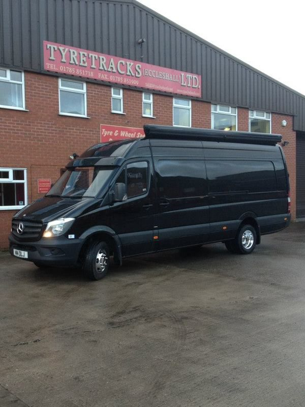 A new set of the recently launched Alcoa Dura-Brights for the 5 tonne Mercedes Sprinter